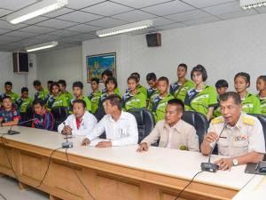 """นักกีฬา """"ปันจักสีลัต"""" รุ่นยุวชนเก็บตัวฝึกซ้อมก่อนเดินทางร่วมแข่งขันชิงแชมป์โลกที่มาเลเซีย"""
