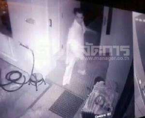 เสี่ยอสังหาริมทรัพย์หึงภรรยาระแวงจะมีกิ๊กใช้ปืนจ่อยิงกลางดึกดับคาบ้านพัก (มีคลิปในที่เกิดเหตุ)