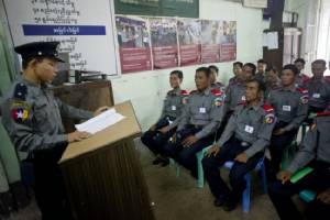 พม่าเกณฑ์กองกำลังตำรวจพิเศษกว่า 40,000 นาย รับมือเลือกตั้ง