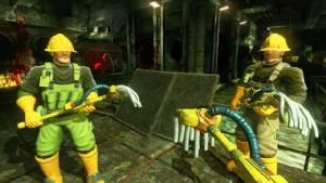 """Viscera Cleanup Detail"" สวมบทภารโรงเก็บกวาดในเกมยิงเลือดสาด"