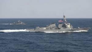 เรือพิฆาตUSแล่นเฉียด'เกาะเทียม'ย้ำยังจะ'ทำอีก'แม้จีนเรียกทูตมะกันประท้วง