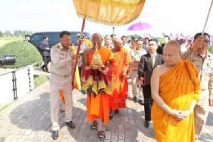 อัญเชิญพระบรมสารีริกธาตุศรีลังกาประดิษฐานไทย