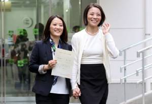 Japan district issues first gay union certificate