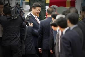 ผู้นำจีนถึงสนามบินฮานอยท่ามกลางการชุมนุมต้านของชาวเวียดนาม