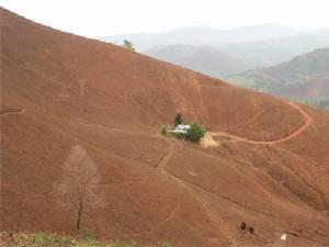 ใครว่าเมืองไทยไม่มีทะเลทราย? แห่แชร์ภาพภูเขาหัวโล้นบริเวณต้นแม่น้ำป่าสัก