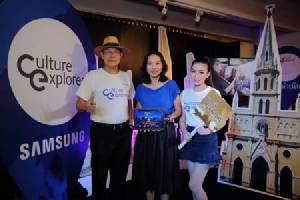 """ซัมซุงชวนหลงรักบางกอก นำเที่ยวย่านประวัติศาสตร์ """"ราชดำเนิน"""" ผ่านแอพพลิเคชัน Culture Explorer"""