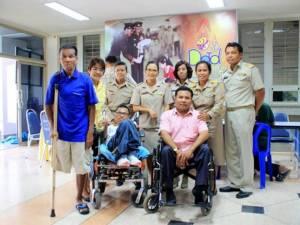 """ความพิการไม่เป็นอุปสรรค! สมัครปั่นเพื่อพ่อ """"BIKE FOR DAD"""" แล้ว 10 ราย ที่ชุมพร"""