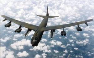 """อเมริกาส่งเครื่องบินทิ้งระเบิด """"บี-52"""" จำนวน 2 ลำ โฉบใกล้เกาะเทียมจีน"""