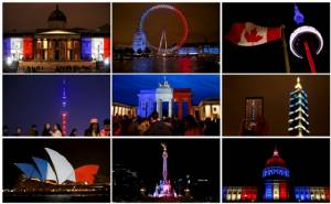 'โลก' ประกาศร่วมมือร่วมใจกัน พร้อมเพิ่มรักษาความปลอดภัยภายหลังเหตุโจมตีที่ปารีส