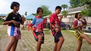 """""""มวยไทยเพื่อเยาวชนสร้างสุข"""" ณ ชุมชนคนจาก 60 จังหวัดทั่วไทยบนเกาะภูเก็ต"""