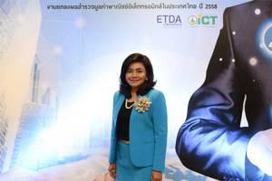 ETDA เผยผลสำรวจมูลค่าอี คอมเมิร์ซไทยปี 58 คาดพุ่งแตะ 2.1 ล้านล้านบาท