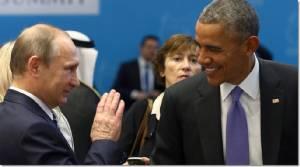 """""""โอบามา"""" เสนอตัวร่วมปฏิบัติการโจมตี IS กับ """"ปูติน"""" ในซีเรีย หากรัสเซียยอมตกลงช่วยโค่น """"อัสซาด"""" ยุติสงครามกลางเมืองซีเรีย"""