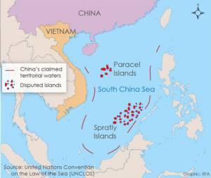 """""""อาเบะ"""" แย้มอาจจัดส่ง """"เรือยามฝั่งขนาดใหญ่"""" ให้ฟิลิปปินส์ใช้ลาดตระเวนในทะเลจีนใต้"""