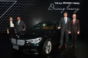 เปิดตัว BMW ซี่รี่ส์ 7 โฉมใหม่ ครั้งแรกในประเทศไทย