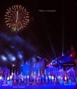 """ตื่นตาตื่นใจใน """"งานสัปดาห์สะพานข้ามแม่น้ำแคว และงานกาชาดประจำปี 2558"""" แสงสีเสียงการแสดง อลังการน่าชม"""