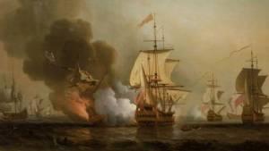 """โคลอมเบียพบ """"เรือขนสมบัติสเปน""""ในทะเลแคริบเบียน หลังถูกจมเมื่อ 300 ปีที่แล้ว"""