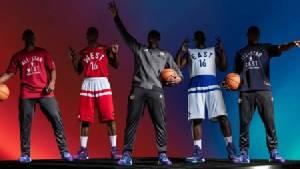 """""""อาดิดาส"""" เปิดชุดออล-สตาร์ รำลึกเกมแรก NBA ที่โตรอนโต"""