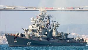 """ระทึก! เรือพิฆาตหมีขาว """"ยิงเตือน"""" ใส่เรือประมงตุรกีกลางทะเลอีเจียน-อ้างป้องกันการเฉี่ยวชน"""