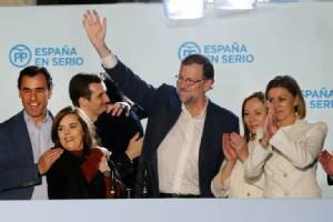 """พรรค รบ.สเปน """"คว้าชัย"""" ในศึกเลือกตั้งทั่วไปแบบเฉียดฉิว-ไม่อาจกุมเสียงเบ็ดเสร็จในสภา"""