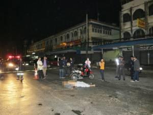 ยิงหนุ่มวัย 40 ดับกลางถนนหน้าเขาวังเพชรบุรี หลังมีเรื่องทะเลาะกันในผับ