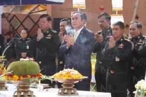 นายกรัฐมนตรีวางศิลาฤกษ์ หอประชุมกองทัพบก รองรับประชุมนานาชาติ