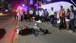 ชลบุรีอุบัติเหตุเพียบส่งท้าย 7 วันอันตรายตายเพิ่ม 3 ศพ เจ็บอีกระนาว
