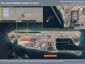 จีนส่งเครื่องบินลงจอดบนเกาะเทียมในทะเลจีนใต้อีก 2 ลำ
