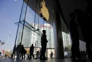 หุ้น Apple ตกต่ำสุดในรอบ 5 เดือน