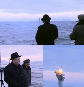 """ยั่วไม่เลิก! โสมแดงปล่อยคลิป """"ยิงขีปนาวุธ SLBM จากเรือดำน้ำ"""" รอบใหม่หลังทดสอบระเบิดไฮโดรเจน (ชมคลิป)"""