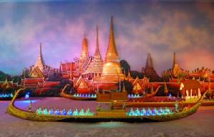 """""""ศูนย์แสดงเรือพระราชพิธีจำลอง 4 มิติ"""" งดงามล้ำค่า ตื่นตามรดกวัฒนธรรมแห่งสายน้ำ"""