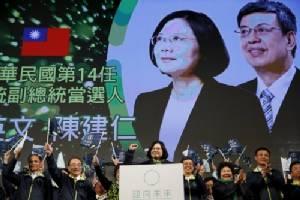 """สื่อจีนย้ำอย่าเพ้อเรื่อง """"เอกราช"""" หลังไต้หวันได้ผู้นำหญิงคนแรก"""