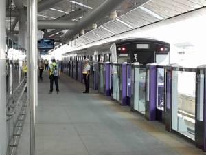 รฟม.เตรียมพัฒนาพื้นที่สถานีสีม่วง เร่งสรุปประมูล/จ้าง BEM บริหาร