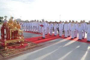 """วางพวงมาลาวันกองทัพไทย """"อุทยานราชภักดิ์"""""""