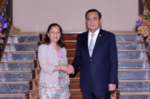 ทูตอาร์เจนตินาประจำประเทศไทย เข้าอำลานายกฯ ในโอกาสพ้นจากหน้าที่