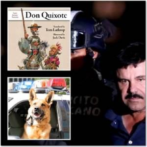 """ทางการเม็กซิโกใช้ """"สุนัข K9 ยูนิต"""" ทดสอบอาหารในคุกของเจ้าพ่อค้ายาเสพติด """"เอล ชาโป"""" กันยาพิษเล็ดลอด ระหว่างอ่านดอนกิโฆเต้"""