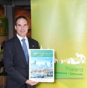 ผลสำรวจเผยทัศนคติในแง่บวกต่อการลงทุนธุรกิจของออสเตรเลียในไทย