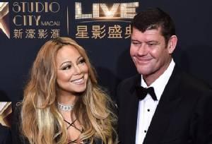 Pop star Mariah Carey engaged to Australian mogul James Packer