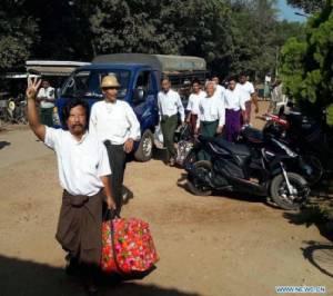 พม่าปล่อยตัวนักโทษการเมืองเพิ่มอีกชุดก่อนถ่ายโอนอำนาจ