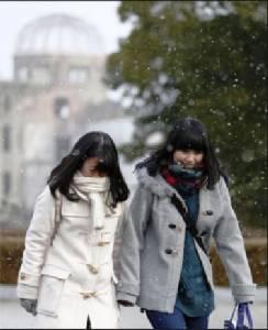 ญี่ปุ่นหนาวสุดในรอบกว่า 100 ปี โอกินาวะยังยะเยือก (ชมคลิป)