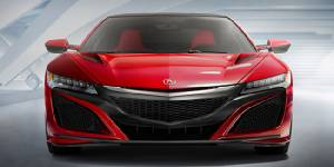 'Acura/Honda NSX' Hybrid Supercar Power