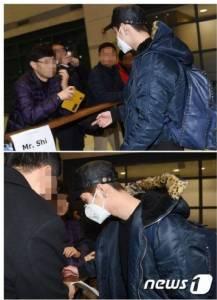 """""""ลู่หาน"""" อดีต EXO เหยียบแผ่นดินเกาหลีครั้งแรกในรอบปี"""