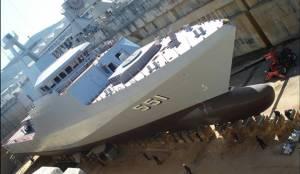 """""""อู่กรุงเทพ"""" คึกคักต่อ OPV ลำที่ 2 กองทัพเรือ เมดอินไทยแลนด์"""