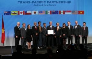 """12 ชาติแปซิฟิกลงนาม TPP สร้างเขตการค้าเสรีใหญ่ที่สุดในโลกสมใจ """"อเมริกา"""""""
