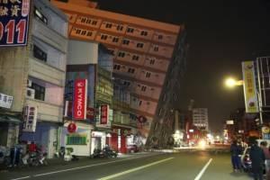 คาดอาคารไต้หวันไม่ได้มาตรฐานต้นเหตุสลดหลังแผ่นดินไหว