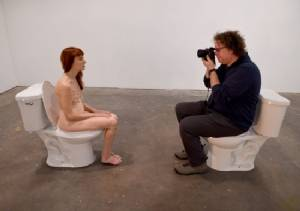 Lisa Levy's art show
