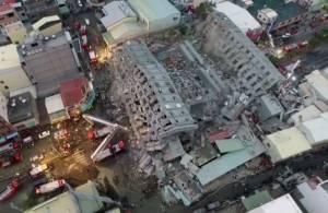 """ผู้เชี่ยวชาญชี้ตึกไต้หวัน """"ยัดไส้ปี๊บ"""" ไม่ใช่สาเหตุพังถล่มในเหตุแผ่นดินไหว"""