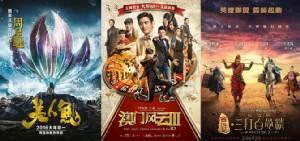 """ศึกหนังวันตรุษจีน """"โจวซิงฉือ"""" ไร้เทียมทาน! ชนะ """"โจวเหวินฟะ/หลิวเต๋อหัว - กัวฟู่เฉิง"""" ขาดลอย"""