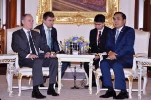 """""""ประยุทธ์"""" ต้อนรับ สมช.รัสเซีย ก่อนประชุมสุดยอดผู้นำอาเซียน พ.ค.นี้"""