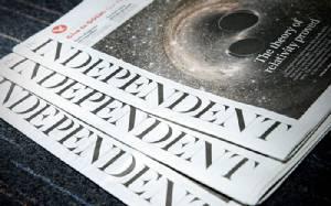 """ปิดตำนานสื่อดังเมืองผู้ดี """"ดิ อินดีเพนเดนต์"""" ประกาศเลิกกิจการหนังสือพิมพ์ถาวร ผู้บริหารชี้โลกเปลี่ยน-ผู้อ่านมุ่งออนไลน์"""