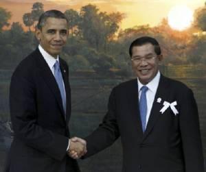 สหรัฐฯ วิจารณ์รัฐบาลเขมรขู่โจมตีฝ่ายค้านหากชุมนุมต้านฮุนเซน